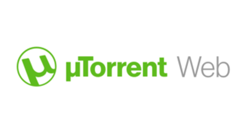 utorrent web featured image featuring the logo and text