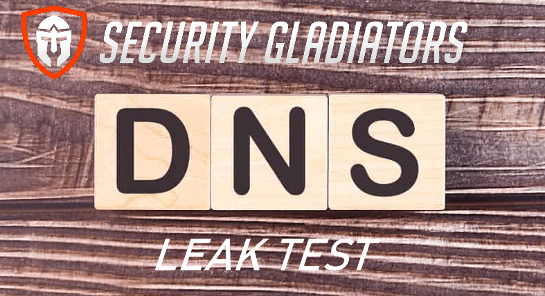 Security Gladiators DNS Leak Test