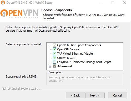 open vpn setup part two