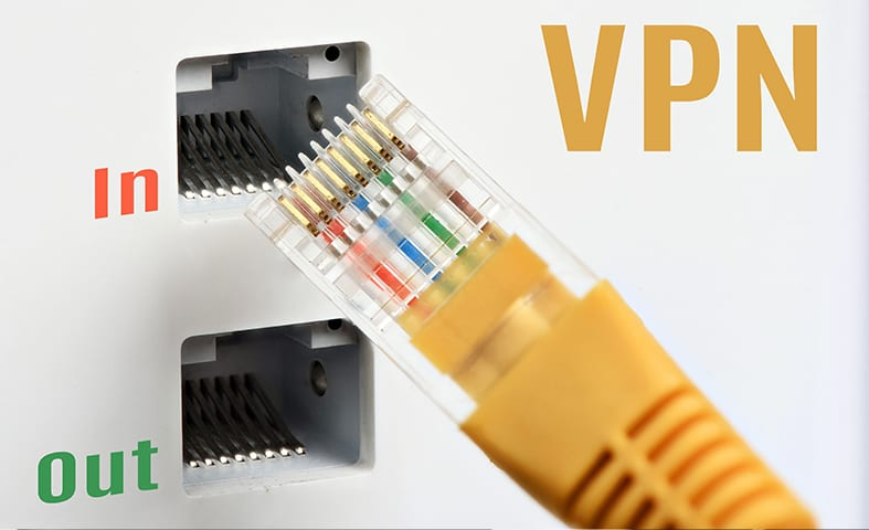an ethernet connection to a VPN