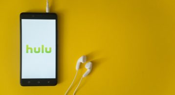 an image of hulu running on an android device