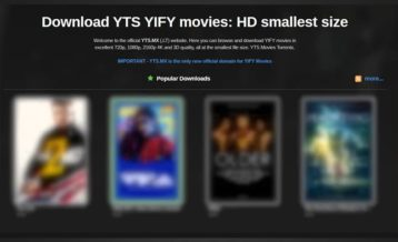 Home of YIFY screenshot