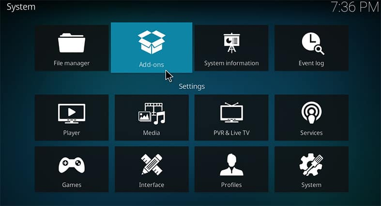 How to install Locast on Kodi Step 2