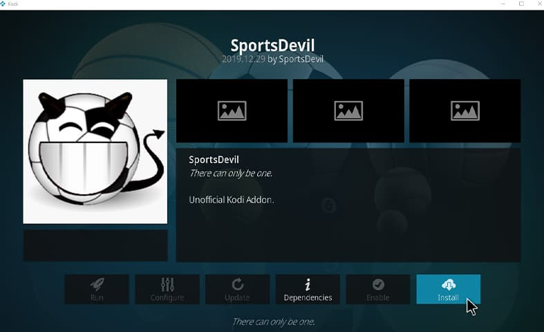 Sports Devil Kodi Guide Images Step 14