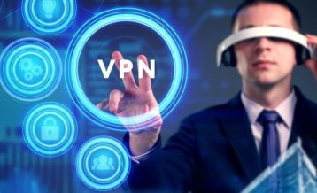 a person using a vpn in the future