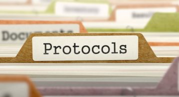 a sheet filled with protocols