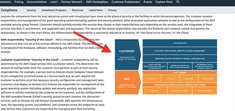 website security - customer image - showcasing graphs
