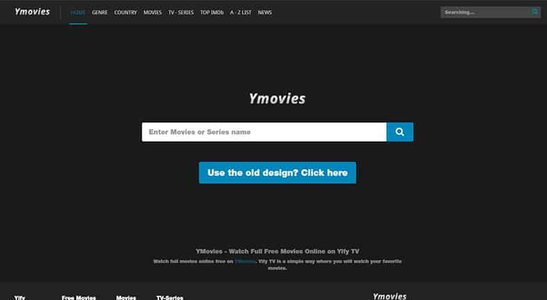 ymovies vip homepage image