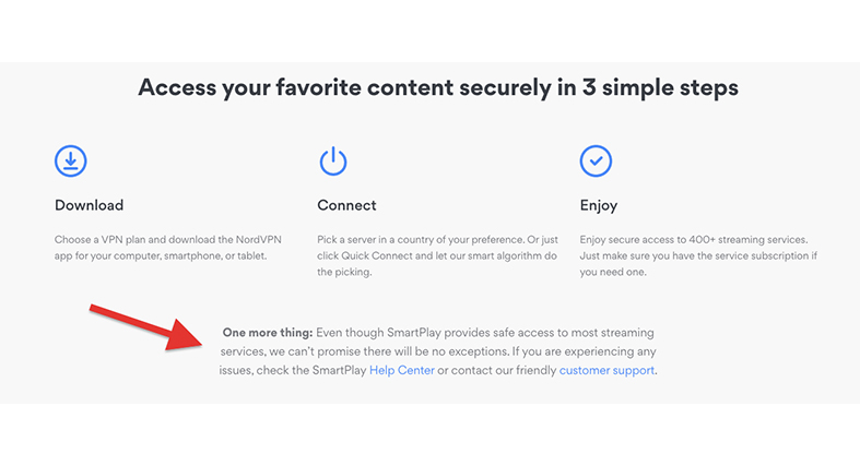 access favorite content