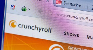 crynchyroll website image