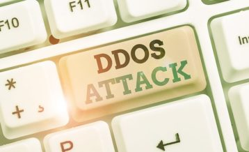 DDoS attack keyboard