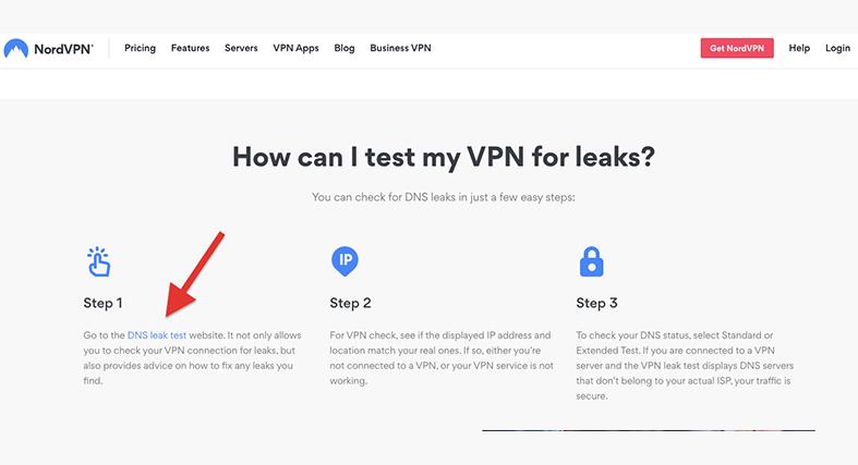 test VPN for leaks