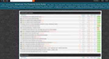 Torlock image showcasing some torrents