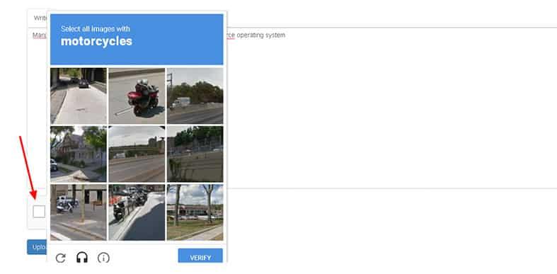 Pass the CAPTCHA