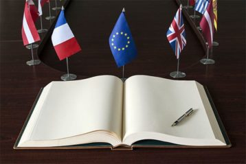 An image featuring a book with the europe comission report