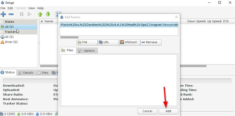 An image featuring how to download a torrent file while using the pirate bay step10
