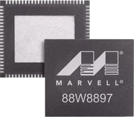 An image featuring a processor that says MARVELL on it