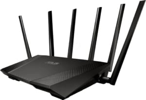 An image featuring the Asus RT-AC3200 router