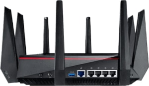 An image featuring the ASUS RT-AC5300 router