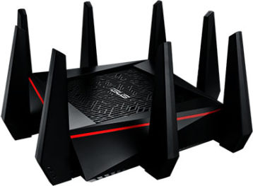 An image featuring the RT-AC5300 AC5300 DD-WRT Router router