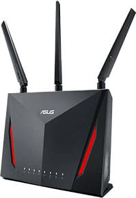 An image featuring the RT-AC86U router