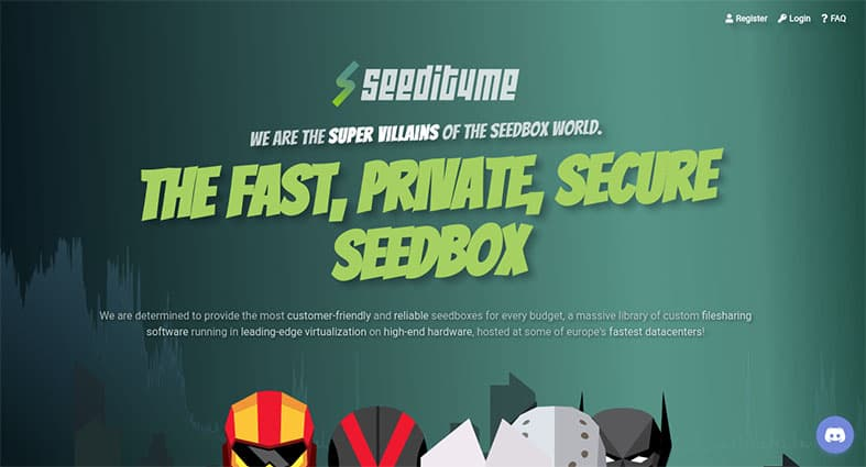 An image featuring the Seedit4 homepage