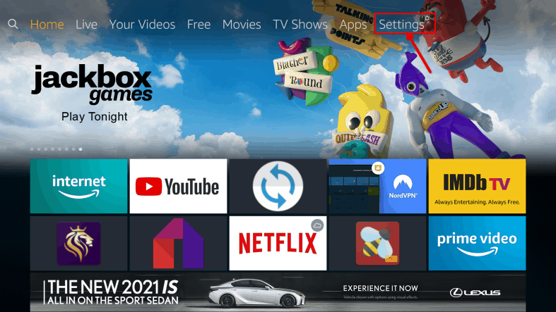An image featuring how to watch BBC iPlayer from USA on Amazon FireStick step3a