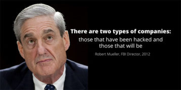 An image featuring Robert Mueller an FBI director that says a famous quote in 2012