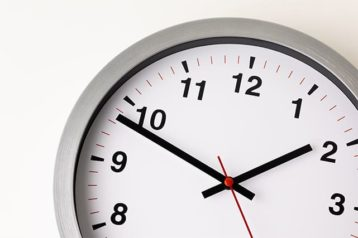 An image featuring a clock