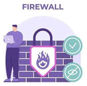 An image featuring firewall concept