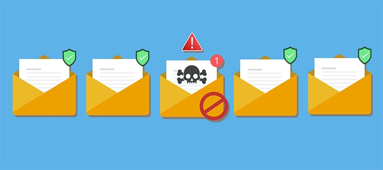 An image featuring a recognized phishing email concept
