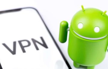 An image featuring VPN android concept