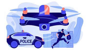An image featuring police tracking concept