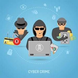 An image featuring cyber criminal concept