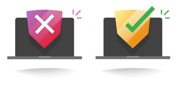 An image featuring the safety of an antivirus concept