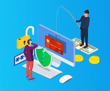 An image featuring spear phishing concept