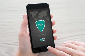 An image featuring VPN connecting concept