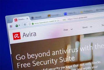 An image featuring the Avira antivirus concept