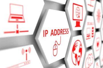 An image featuring an IP address concept