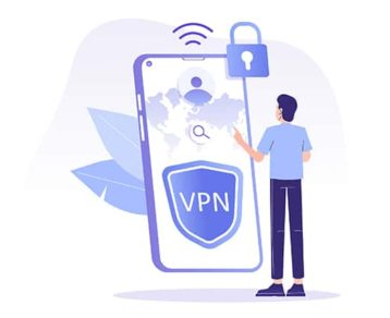 An image featuring a VPN concept
