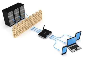 An image featuring DNS firewall concept