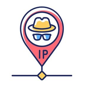 An image featuring IP privacy concept
