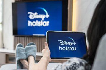An image featuring Disney Hotstar concept