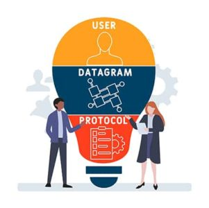 An image featuring user datagram protocol concept