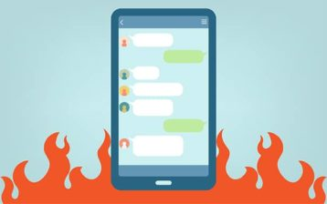 An image featuring SMS spoofing concept