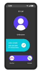 An image featuring caller ID spoofing concept