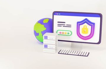An image featuring DNS protection concept