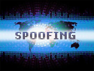 An image featuring IP spoofing concept