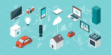 An image featuring multiple IoT devices concept