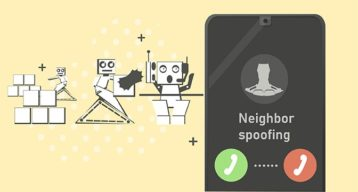 An image featuring neighbor spoofing concept